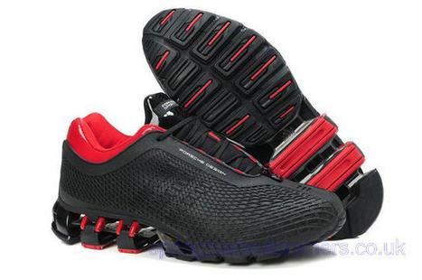 Adidas Porsche Design Sport Bounce S3 Running Trainers Black Red.jpg (640x425 pixels) | springbladeuktrainers.co.uk | Scoop.it