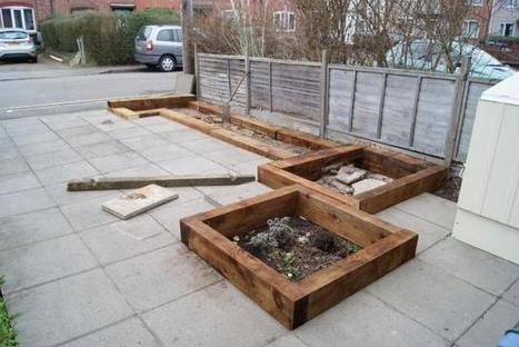 Building timber raised beds in your driveway | Local Economy in Action | Scoop.it