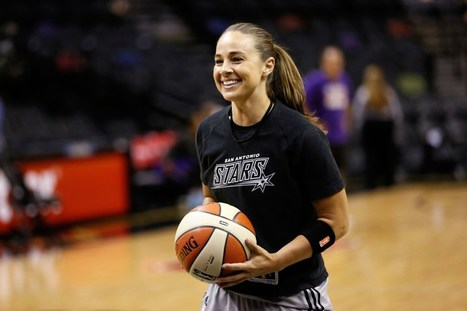 "The ""weight of history"" spurs her on. Congrats @beckyhammon #congratscoach. #womeninleadership 