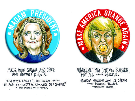 Ample Hills Wants You To Vote For Your Next Presidential Ice Cream Flavor   Urban eating   Scoop.it