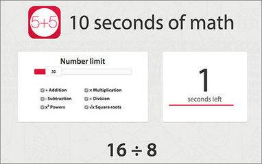 10 segundos de matemáticas y muchas horas de diversión | Microsiervos (Juegos y Diversión) | Mates_mv | Scoop.it