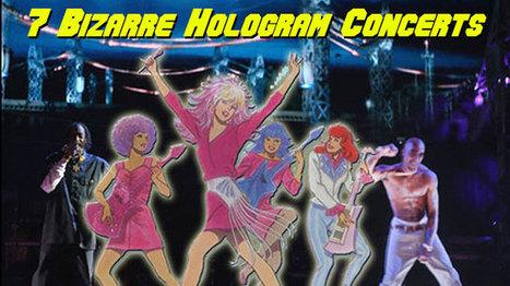 7 Bizarre Hologram Concerts - CraveOnline | Holograms | Scoop.it