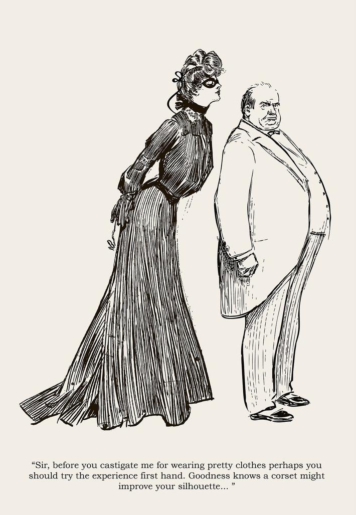 From 'Belle en Femme' (1895)   Herstory   Scoop.it