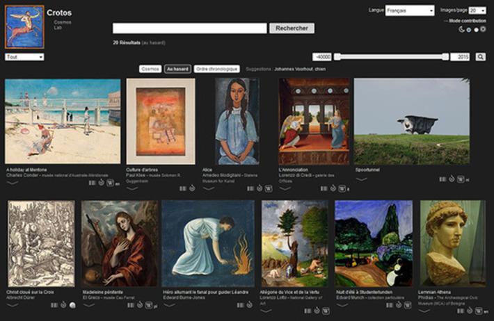 Crotos, projet sur les œuvres d'art propulsé par Wikidata et Wikimedia Commons     TIC et TICE mais... en français   Scoop.it