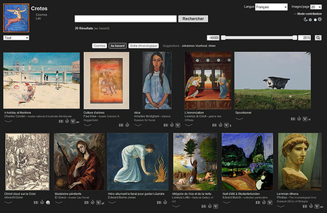 Crotos, projet sur les œuvres d'art propulsé par Wikidata et Wikimedia Commons | | TUICE_primaire_maternelle | Scoop.it