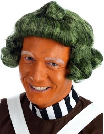 Green Oompa-Loompa Wig Fancy Dress Accessory   Fancy Dress Ideas   Scoop.it