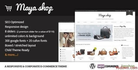 MayaShop v2.3.0 A Flexible Responsive e-Commerce Theme | Download Free Nulled Scripts | vapeo | Scoop.it