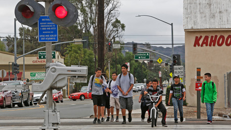 L.A. needs more crosswalks but drivers also need to learn the rules of the road. | Los Angeles Accident Attorney News | Scoop.it