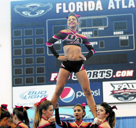Collegiate aspirations drive Palm girls at state cheer event - Sun-Sentinel | What scholarships are available for college cheerleaders. | Scoop.it
