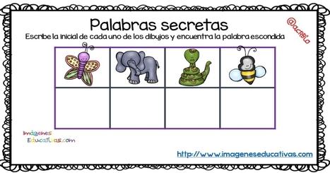 Palabras secretas Fichas para la mejora de la atención - Imagenes Educativas   TAC i educació   Scoop.it