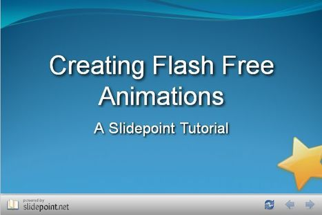SlidePoint.net | Creating Flash Free Animations | Escuela y Web 2.0. | Scoop.it