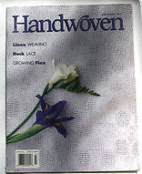 WEAVING: Handwoven Magazine March/April 1997 Linen Weaving Huck Lace Flax | Maori weaving | Scoop.it