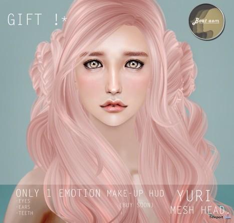 Yuri Mesh Head Gift by Boataom | Teleport Hub - Second Life Freebies | Second Life Freebies | Scoop.it