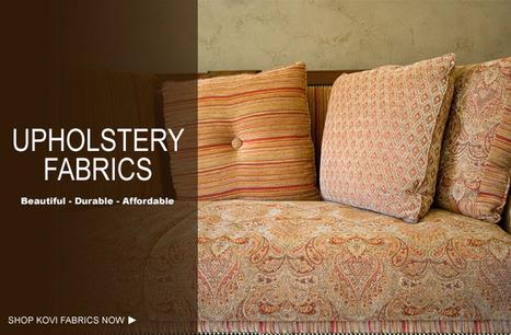 Designer Upholstery Fabric | Buy Upholstery Fabrics from Kovifabrics.com | kovifabrics | Scoop.it
