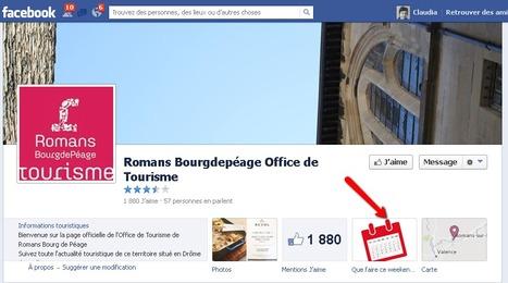 Page Facebook de Romans Bourg-de-Péage Office de Tourisme | Sites qui ont implémenté les Widgets Sitra | Scoop.it