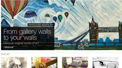 Amazon investit le marché de l'Art | Point & Marge, the micro studio | Scoop.it