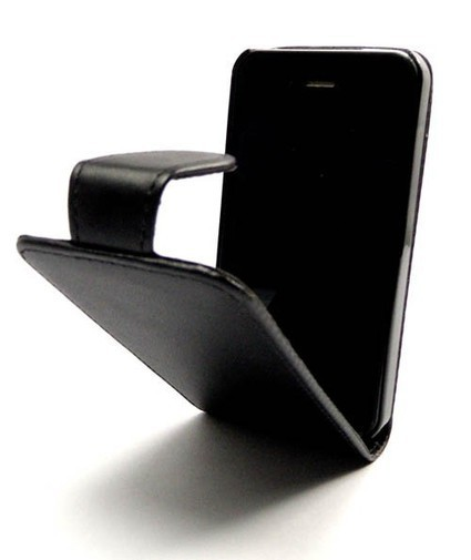 Black Leather Case for iPhone 4S/4 | IPhone Cases | Scoop.it