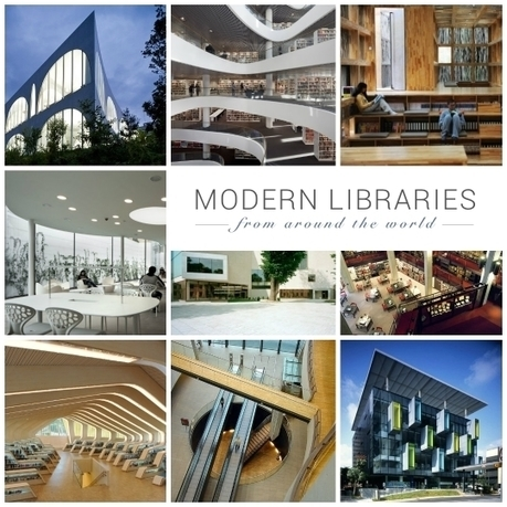 25 modern libraries from around the world | bibliothèque | Scoop.it