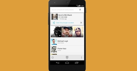 Your Google+ Pictures Will Pop Up With Caller ID on Android   Social Media, SEO, Mobile, Digital Marketing   Scoop.it
