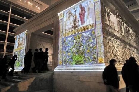Roma recupera los colores del Ara Pacis original | Historia del Arte - 2ºBachillerato | Scoop.it