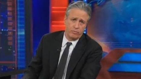 WATCH: Jon Stewart's funny, poignant rebuke to racists upset by ... | Humor and Just Good Fun | Scoop.it