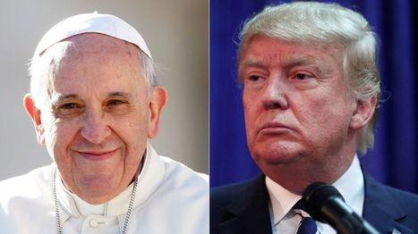 Pope Francis questions Donald Trump's Christianity - BBC News   Pope   Scoop.it