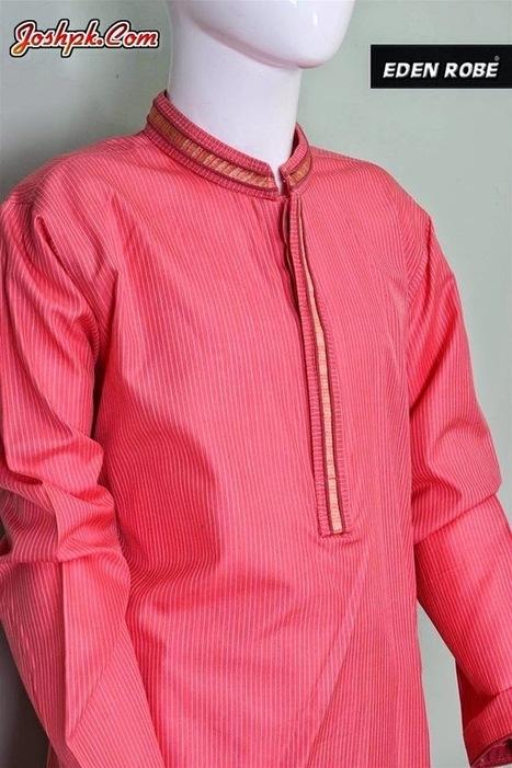 Eden Robe Colorful Eid Kurta Shalwar Collection 2014 For Men   joshpk   Scoop.it