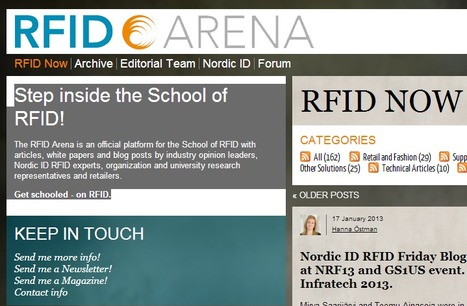RFID Now - RFID Arena | NFC News and Trends | Scoop.it