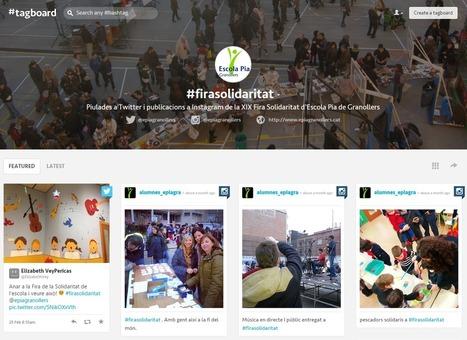 En la nube TIC: Tagboard, o cómo monitorizar hashtags | APRENDIZAJE | Scoop.it