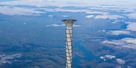 Space Elevator Could Lift People 12 Miles From Ground | Makelifeeasy.in | Scoop.it