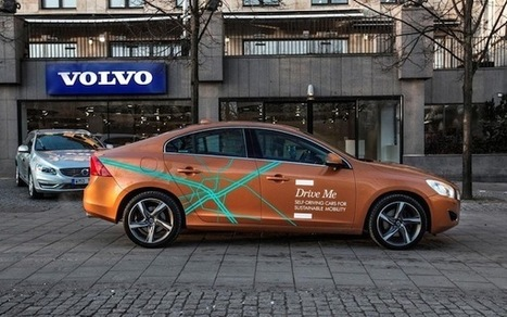 Volvo testing self-driving cars on public roads in Sweden | Impact Lab | leapmind | Scoop.it