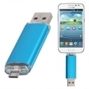 8GB Fashionable OTG USB Flash Drive for Smart Phones/Tablet PCs Blue | Power in your hand | Scoop.it
