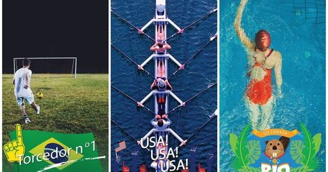 Snapchat celebrates the Olympics with new filters, lenses and Discover channel | SportonRadio | Scoop.it
