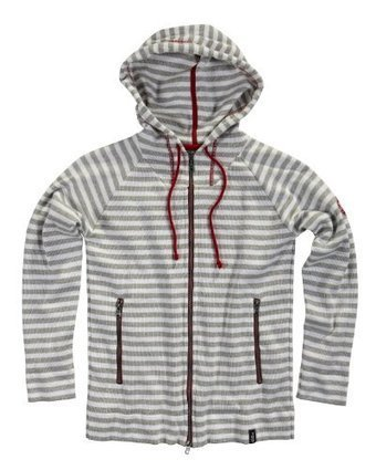 Holebrook Womens 312403 Jennie WP Hooded Sweater X-Large Light grey melange/white | Big Deals Fashion Today | Scoop.it