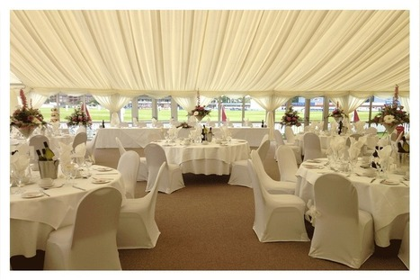 Marquee wedding - at look at the advantages and disadvantages | The Main Advantages of Marquees | Scoop.it