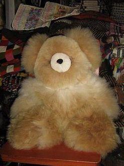 Hellbrauner Teddy Bär, 50 cm | Produkte aus Peru | Scoop.it