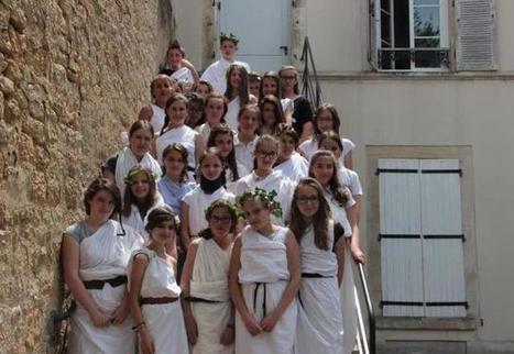 Le latin passionne toujours les élèves au collège - la Nouvelle République | Salvete discipuli | Scoop.it