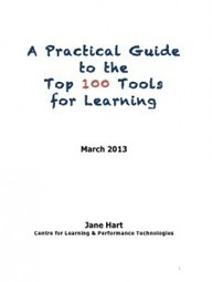 A Practical Guide to the Top 100 Tools for Learning « Top 100 Tools for Learning | Teaching & learning in the creative industries | Scoop.it