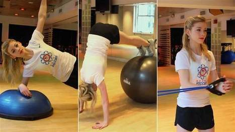 Gracie Gold's 3 workout moves for core strength - Today.com | Personal Trainer: Battle, M. | Scoop.it