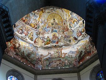 La cupola di Santa Maria del Fiore, da Vasari a Zuccari | Capire l'arte | Scoop.it