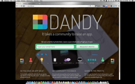 Startup Monday: Hyperdrive-Funded Dandy Brings App Ideas To Market | Nima.Co | Dandy Media Coverage | Scoop.it