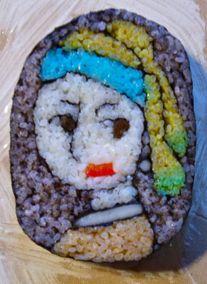 Sushi Roll Art by Japanese Artist Takayo Kiyota  #art #foodart #Sushi #sculpture | FASHION-BEAUTY-CLOTHES-GIRL | Scoop.it