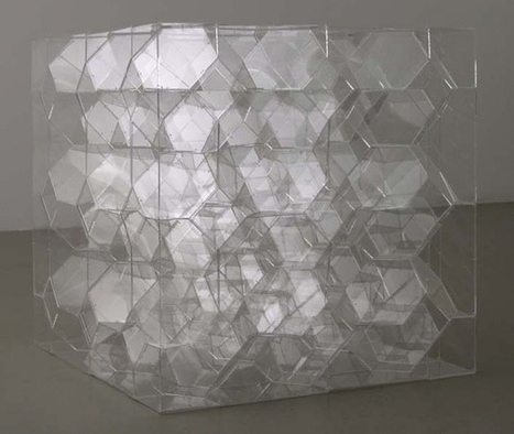 Ivana Franke: Boxed-in infinite polyhedron | Art Installations, Sculpture, Contemporary Art | Scoop.it