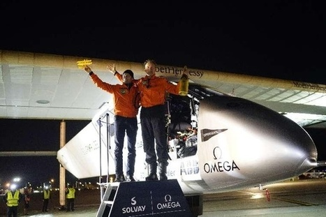Solar Impulse in hometown of aviation pioneers - SWI swissinfo.ch | Aviation & Airliners | Scoop.it