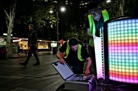 Tetrabins combine Tetris and recycling for Vivid Sydney | Promoting Creativity Through Design and Technology | Scoop.it