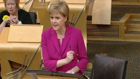 Nicola Sturgeon speaks of her tears for Syrian migrant boy washed up on beach - BBC News   My Scotland   Scoop.it