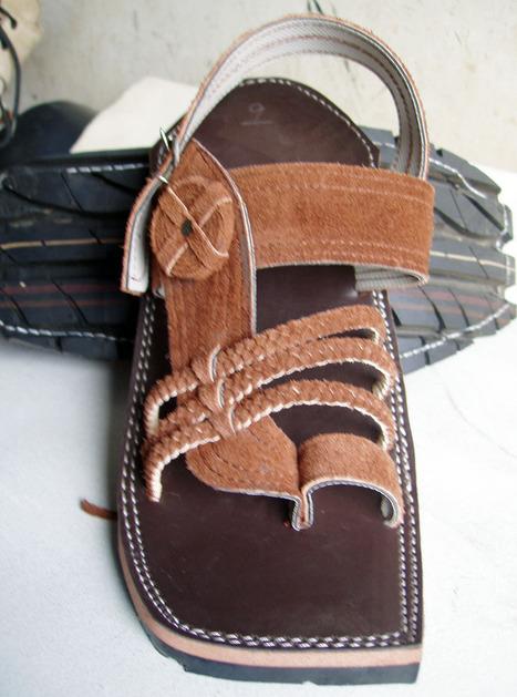 Balochi Bandari Chawat (Sandals) | Handmade Shoes | Scoop.it
