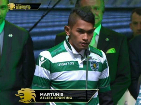 "Indonesian tsunami survivor makes ""dream"" move to Sporting Lisbon - Sporting Clube de Portugal 