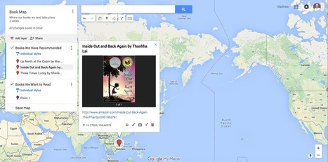 Make a Book Map with Google Maps | Web 2.0 for Education | Scoop.it