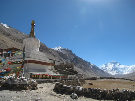 The Highest Buddhist Shrine on the Planet Rongbuk Monastery | Adventure Travel at its Best! | Scoop.it